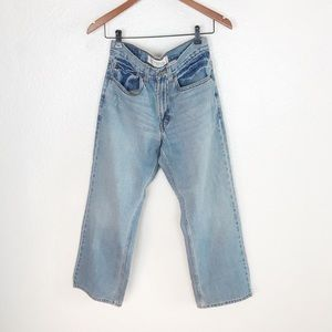 Levi's 569 Straight Ankle High Rise Jeans Size 26